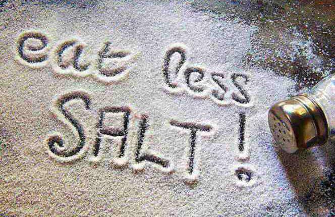 مصرف کمتر نمک